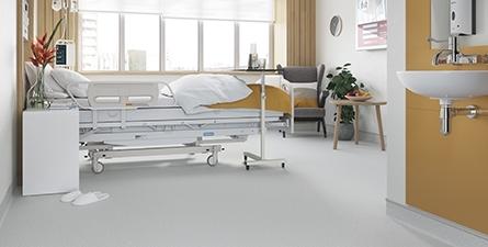 保健场所的地板