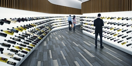 零售场所的地板