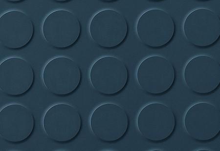 SaarFloor Noppe Stud Tile - Deep Blue 191