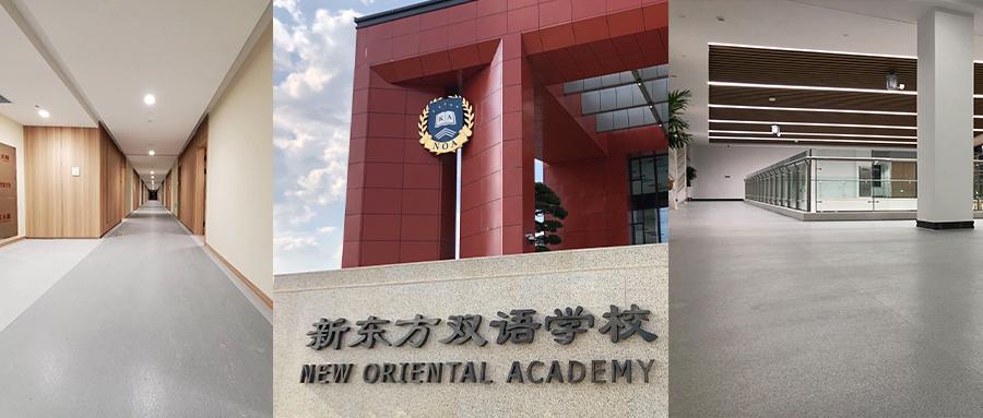 保丽地板案例 | 金华新东方双语学校 , 用教育与科技走向世界!